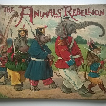 The Animals' Rebellion By Clifton Bingham 1890 - Books