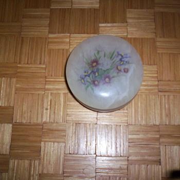 Trinket box - Art Glass