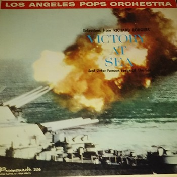 'Victory At Sea'....On 33 1/3 RPM Vinyl  - Records