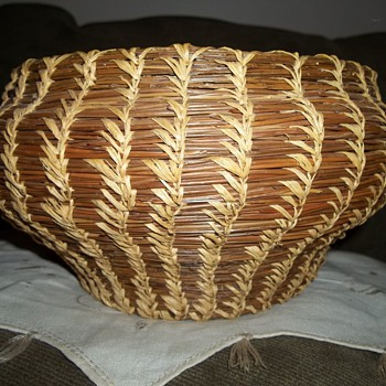 Coushatta Woven Basket - Native American