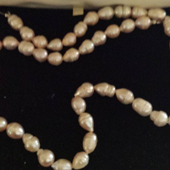 Mystery Pearls Handed Down By Great Nanna - Fine Jewelry