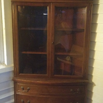 Antique Corner Cabinet - Furniture