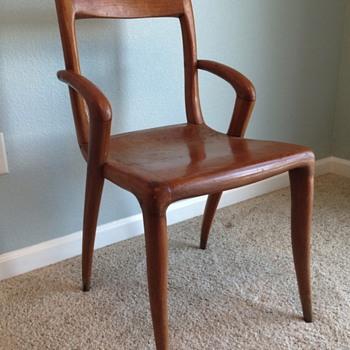 Mid Century Modern Chairs - set of 4