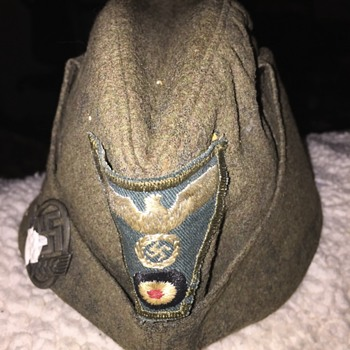 World War 2 German Oversea's Cap ???