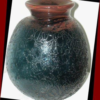 Early Kent Forrest Ipsen Vase - Art Glass