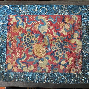 Old Chinese Textile - Asian