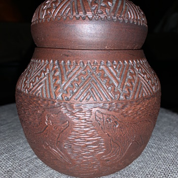 Kanyengeh Pottery Six Nations Reserve - Native American