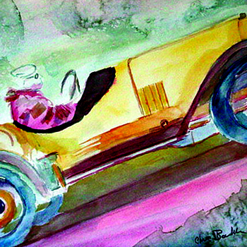 Some of my automotive brushwork art - Fine Art