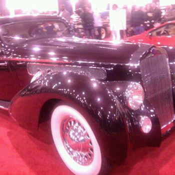 Delahaye at Philly car show.  Art Deco French beauty - Classic Cars