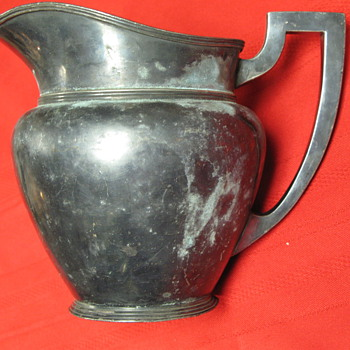 Antique Silverplate Pitcher A3123 - Silver