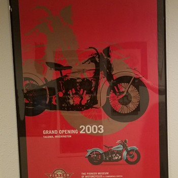 2003 Grand Opening of The Pioneer Motorcycle Museum  - Posters and Prints