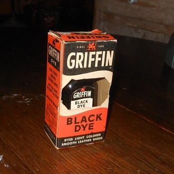 Griffin Black Shoe Dye with Box - Shoes