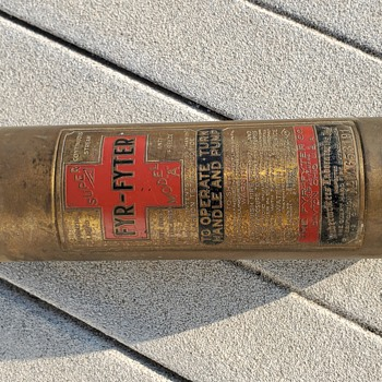 Fyr-Fyter - World War II era fire extinguisher  - Firefighting