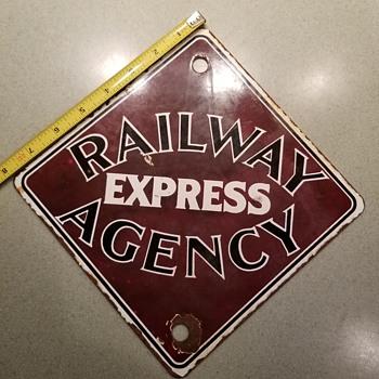 Railway express agency - Railroadiana