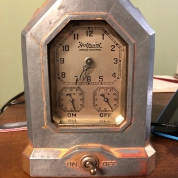 1930s Hotpoint Oven Timer - Clocks