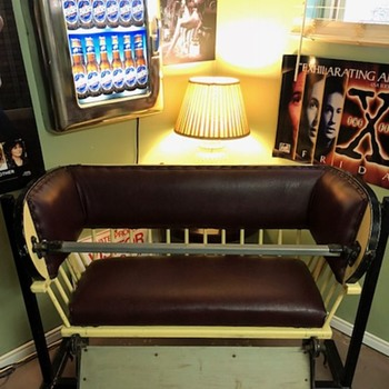 "Early 1900s Eli Bridge Co. ""Big Eli"" Seat  Ferris Wheel Seat - Furniture"