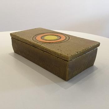BITOSSI CIGARETTE BOX - Pottery