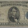 Inverted Back - 1934 5-dollar US Silver Certificate Bill