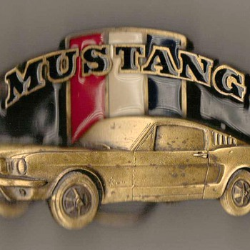 Mustang Belt Buckle - Accessories
