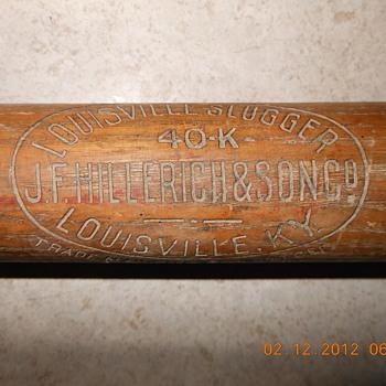 Louisville Slugger 40 K Kork Grip Bat - Baseball