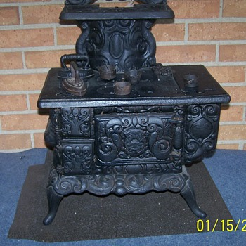 Salesman Sample Cast Iron Stove - Kitchen