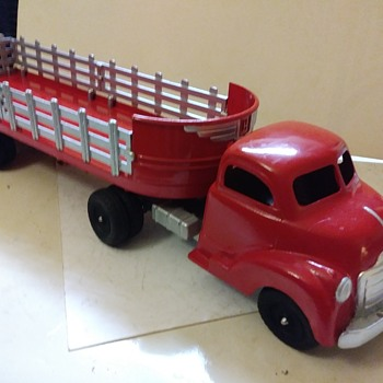 Restored Hubley #500 Tractor Trailer - Model Cars
