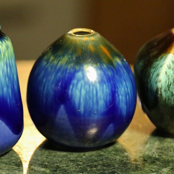 More Little Japanese Pots with Fabulous Glazes