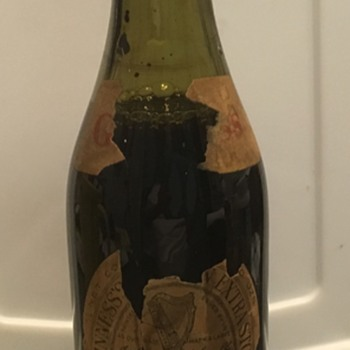 71 Year Old Bottle of Guinness Extra Stout - Breweriana
