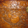 Cedar (?) Chest - Asian Carving