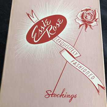 """Vintage Essie Rose """"Stockings in a Box"""" - Womens Clothing"""