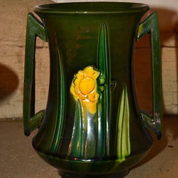 Awaji - Japanese Deco Vase - Pottery