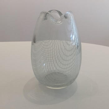 HARRTIL VASE - HARRACH MCM - Art Glass