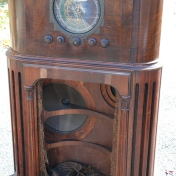 My newest acquired Radio 1935 Zenith 16-A-61 Stratosphere, Super RARE! - Radios