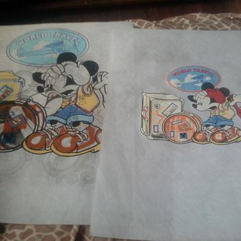 Disney Sample Sketches. .. - Advertising