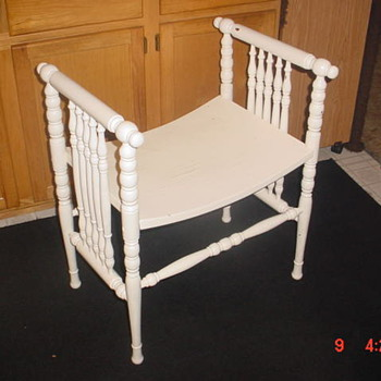 Wisconsin Chair Company Bench - Furniture