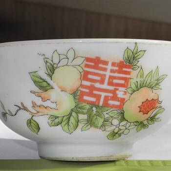 "c1920 Chinese Restaurant -Vancouver? 4"" Rice bowl. - China and Dinnerware"