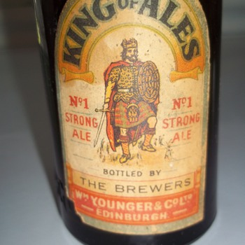 King of Ales Beer Bottle