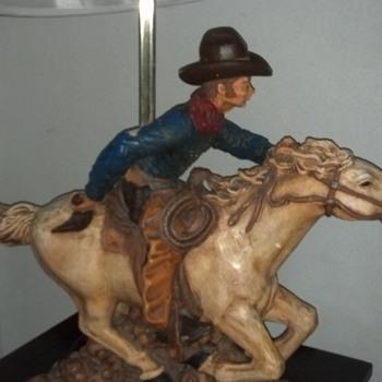 cowboy lamp - Lamps