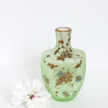 Tiny Riedel Glass Perfume, c. 1890 - Art Glass