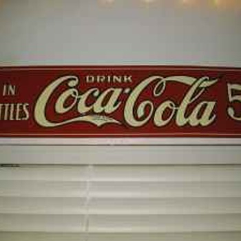 1922 Coca Cola Sign? CCK - Coca-Cola