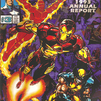 Marvel Annual Report 1993 - Comic Books