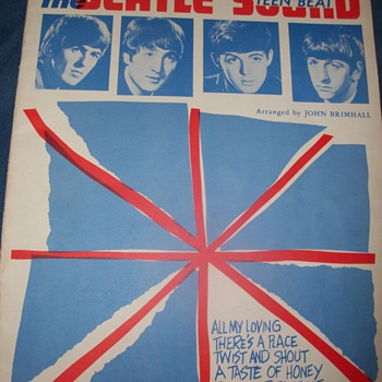 1963/64 Beatles piano music - Music Memorabilia
