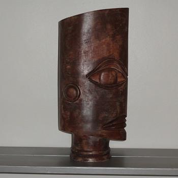 mask vase - Pottery
