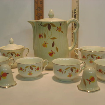 Hall's Superior Tea/Coffee Set - China and Dinnerware
