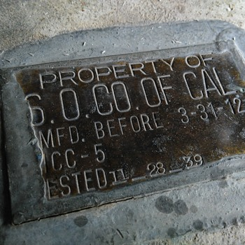 property of s.o. co of cal