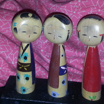 """""""KOKESHI KISSING DOLLS"""" AMBERROSE!!! THIS ARE FOR YOU :) - Dolls"""