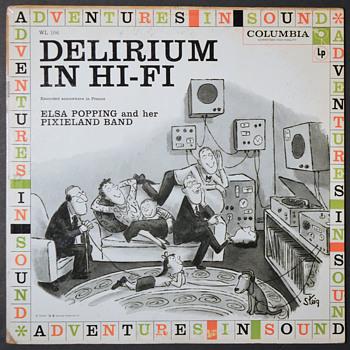 Difficult Listening 26 - Delirium in Hi-Fi - Records