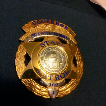 WSP 100th Class Anniversary Badge