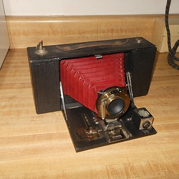 Kodak No. 3A Folding Brownie Camera 1909-1915 - Cameras