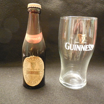 Old unopened Guinness Extra Stout Beer Bottle from late 1960's?